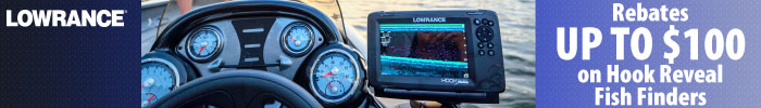 Lowrance Hook a Great Deal Mail-In Rebate