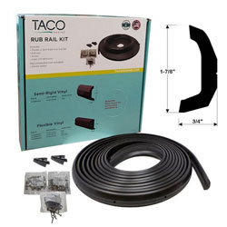 Taco Marine V11-4135 Semi-Rigid Rub Rail Kit - 30 feet