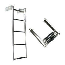 Windline Telescoping Boat Ladder