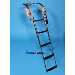Armstrong Rigid Inflatable Boat 4-Step Telescoping Boarding Ladder