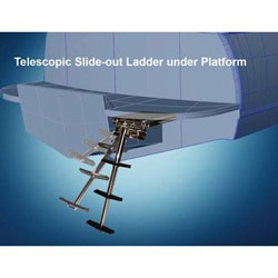 Armstrong Telescoping Slideout Ladder - 4-Step - TL4-48SL-DFWB