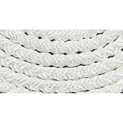 Buccaneer Medallion 8-Plait Nylon Line - White