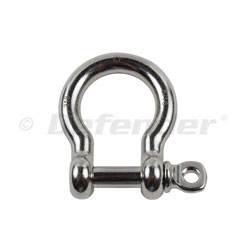 Suncor Bow / Anchor Shackle with Screw Pin - 1/2""