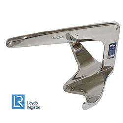 Manson Ray Anchor - Stainless Steel