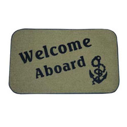 Taylor Made Welcome Aboard Mats