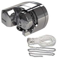 Lewmar Pro-Fish 1000 Horizontal Windlass Kit with Rope/Chain Rode