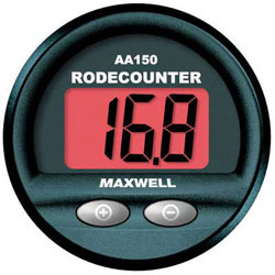 Maxwell AA150 Rode/Chain Counter