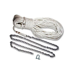 Lewmar Pre-Made Anchor Rode - 3-Strand Rope Spliced to High Test Chain