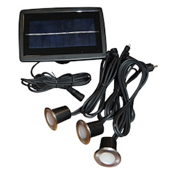 Taylor Made  Recessed Solar Light Set Base Set