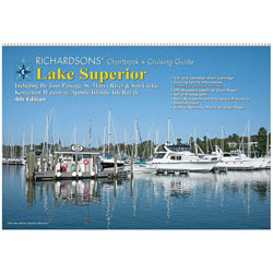 Maptech LS4 Waterproof Chartbook & Cruising Guide - Lake Superior