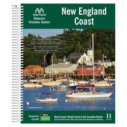 Maptech Embassy Cruising Guide: New England Coast - 11th Edition