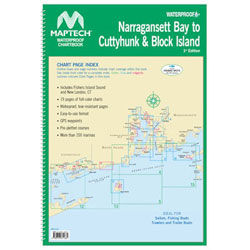 Maptech Waterproof Chartbook - Narragansett Bay to Cuttyhunk and Block Island