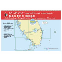 Maptech TB2 Waterproof Chartbook & Cruising Guide - Tampa Bay to Flamingo