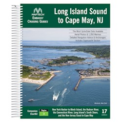 Maptech Embassy Cruising Guide: Long Island Sound - 17th Edition