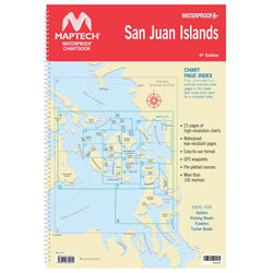 Maptech Waterproof Chartbook - San Juan Islands