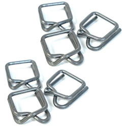 Self-Locking Shrink Wrap Buckles