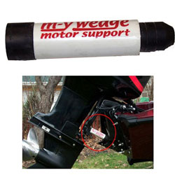 m-y wedge Outboard Motor Support for Trailering