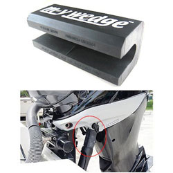 m-y wedge Universal Outboard Motor Support for Trailering