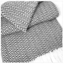 Sunbrella Outdoor Throw Blanket - Zig Zag