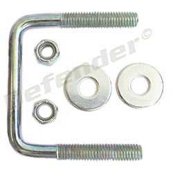 C.E. Smith Square Trailer Frame U-Bolt (15252A )