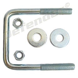 C.E. Smith Square Trailer Frame U-Bolt (15253A )
