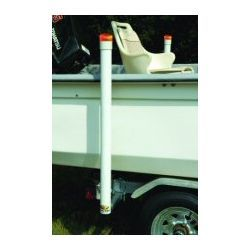 C.E. Smith Lighted Trailer Post Guide with LED Lights - 40""