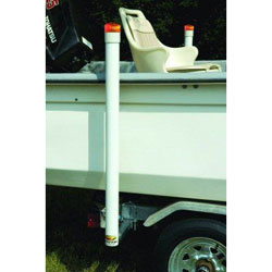 C.E. Smith Lighted Trailer Post Guide with LED Lights - 60""