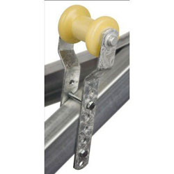 C.E. Smith Trailer Adjustable Keel Roller Bracket Assembly - Yellow TPR