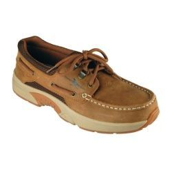 Rugged Shark Men's Atlantic Boat Shoes