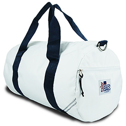 SailorBags Medium Round Sailcloth Duffel Bag