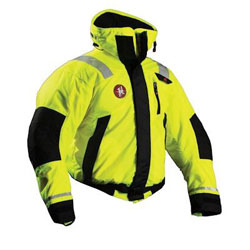 Firstwatch Flotation High Visibility Bomber Jacket
