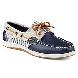 Sperry Women's Koifish Stripe Boat Shoe