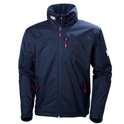 Helly Hansen Men's Crew Hooded Jacket - Colors: Red, Navy, Olympian Blue