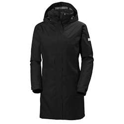 Helly Hansen Women's Aden Long Jacket - Black Small