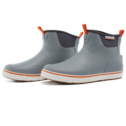 Grundens Deck-Boss Ankle Boots - Monument Gray - 9