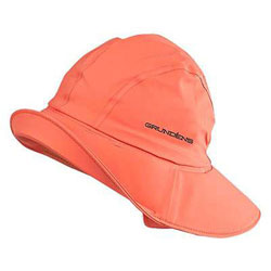 Grundens Sanhamn Sou'wester Rain Hat - Orange Large