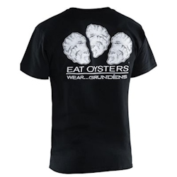 Grundens Eat Oysters Graphic T-Shirt