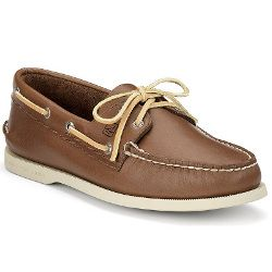Sperry Men's Authentic Original 2-Eye Boat Shoes - Tan   Medium