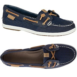 Sperry's Women's Coil Ivy Perforated Boat Shoe
