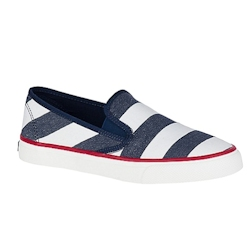Women's Seaside Breton Stripe Sneaker