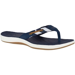 Sperry Women's Seabrook Breton Stripe Flip Flop