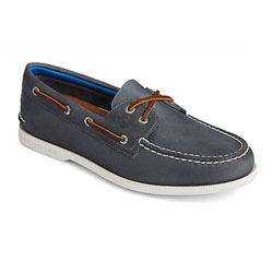 Sperry Men's Authentic Original PlushWave Boat Shoe - Navy  Medium  9-1/2