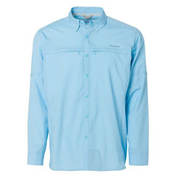 Grundens Bayamo Cooling Long Sleeve Shirt - Caribbean XL