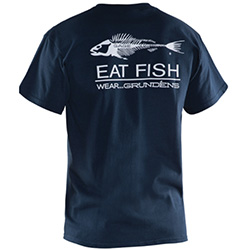 Grunden's Men's Eat Fish T-Shirt