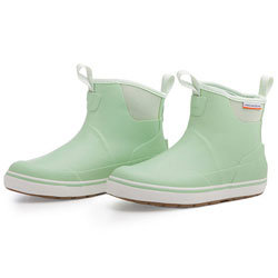Grundens Women's Deck-Boss Ankle Boot - Sage Green, Size 9