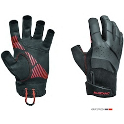 Mustang Traction Open Finger Gloves