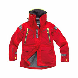 Gill OS12JW Women's Ocean Jacket - Red/Bright Red 10