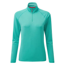 Gill Women's UV Tec Long Sleeve Zip Tee