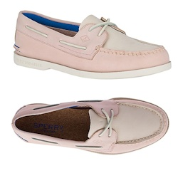 Sperry Women's Authentic Original Plush Boat Shoe - Blush, Select Size Medium
