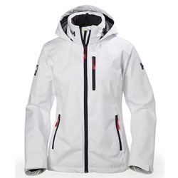 Helly Hansen Women's Crew Hooded Jacket - White 2X-Large